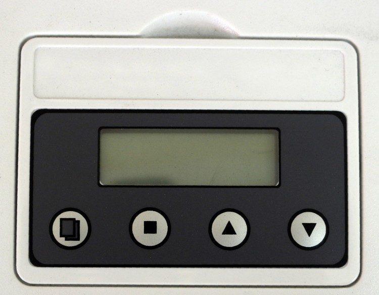 Pearl su yumuşatma LED kumanda paneli